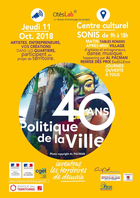PARTICIPEZ AUX 40 ANS DE LA POLITIQUE DE LA VILLE