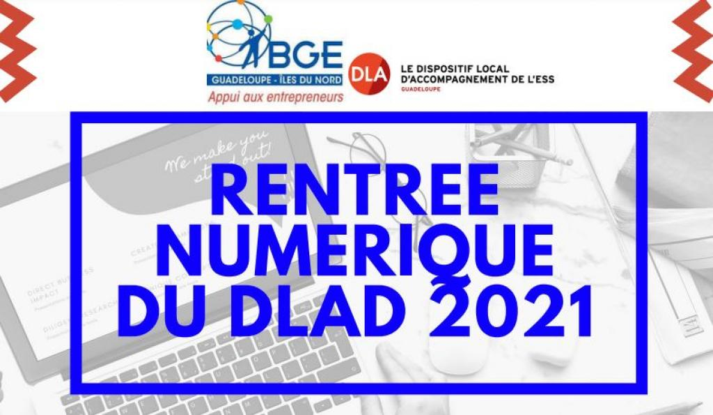 RENTREE NUMERIQUE DU DLAD 971 - EDITION 2021