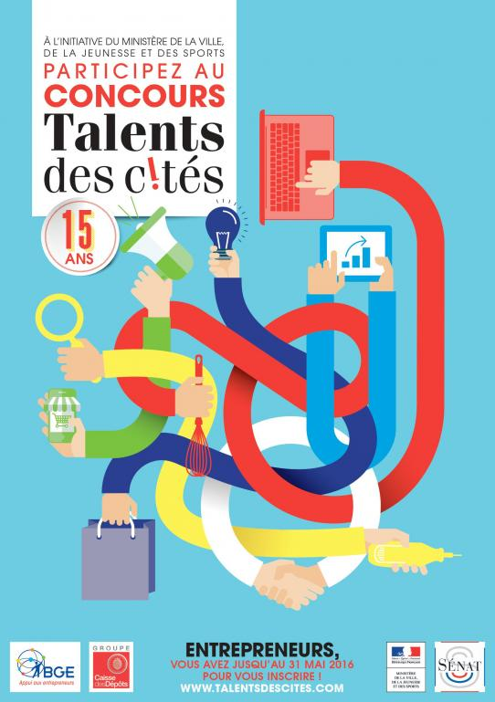 TALENTS DES CITES: INSCRIPTION