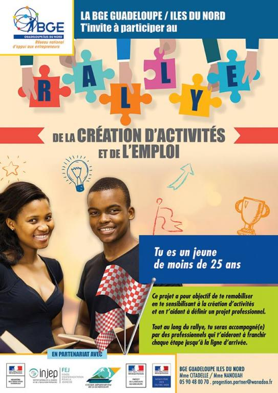 RALLYE DE LA CREATION D'ENTREPRISE